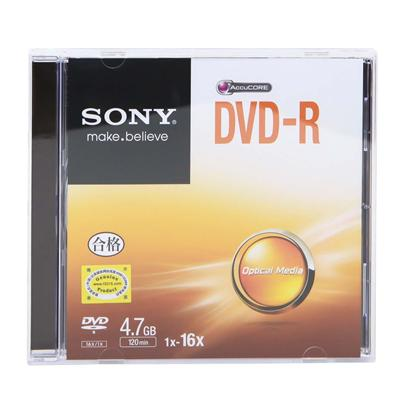 索尼 DVD-R刻录盘 4.7GB  DVD-R DMR47