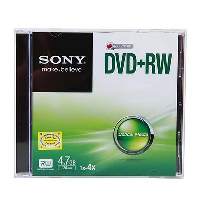 索尼 DVD+RW可擦写刻录盘 4.7GB  DVD+RW