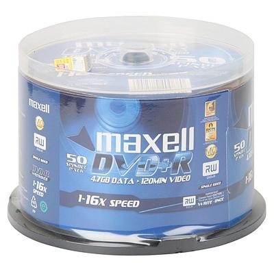 麦克赛尔 刻录盘 4.7GB 50片/筒  DVD+R