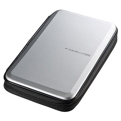 山业 抗压抗震蓝光CD包 56片 (银色)  FCD-WLBD56S