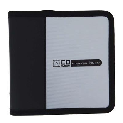 树德 CD光盘包 (银灰) 24片装  CD-24