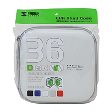 山业 CD盒 (白) 36片装  FCD-SH36WH