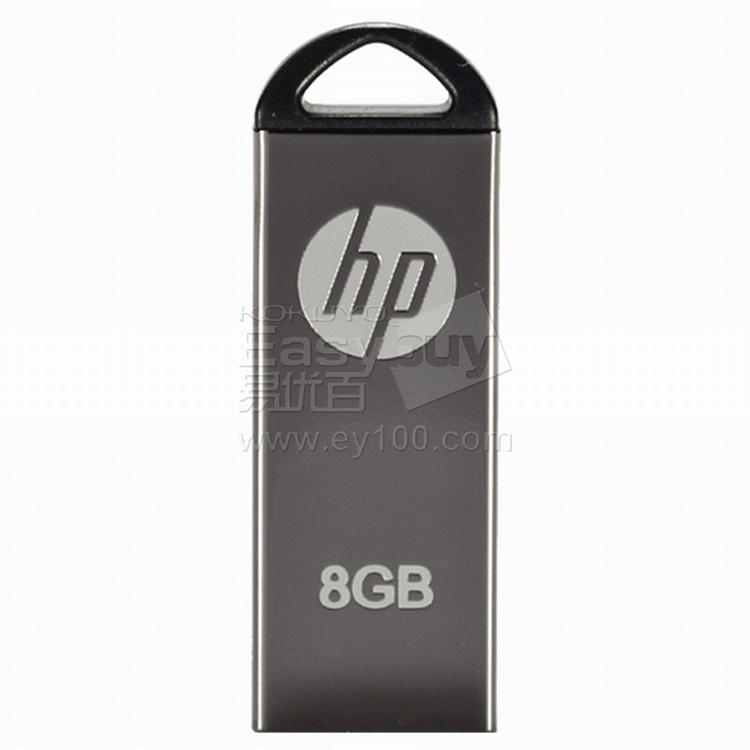 惠普 全金属商务U盘 8G  V220W