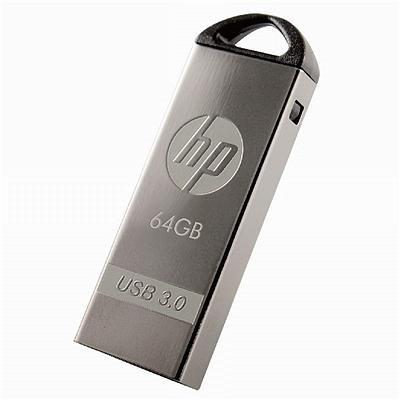 惠普 银色迷幻USB3.0U盘 64G  X720W