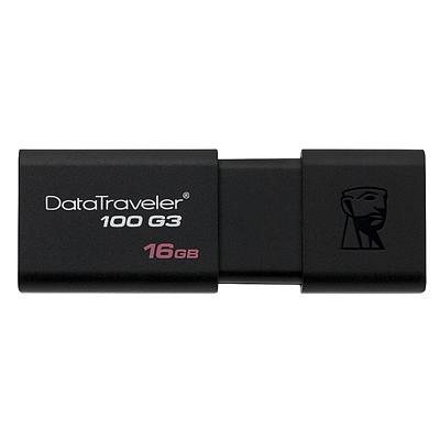 金士顿 U盘(USB3.0) (黑) 16G  DT100G3