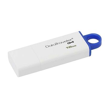 金士顿 U盘 USB3.0 (蓝) 16G  DTIG4
