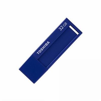 东芝 标闪系列USB3.0 U盘 (蓝色) 32G