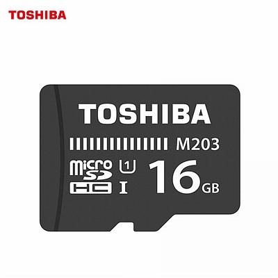东芝 TF(microSDHC)高速存储卡 (黑色) 16G  Class10 100MB/s