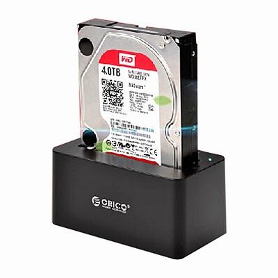 奥睿科 串口移动硬盘盒 硬盘底座 高速USB3.0 SATA  6619US3-BK