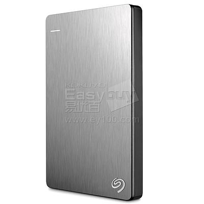 希捷 Backup Plus新睿品 2.5英寸 USB3.0便携式移动硬盘 (银) 4T  STDR4000301