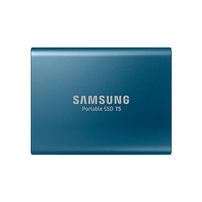 三星 T5系列 移动固态硬盘 (蓝色) 250G  MU-PA250B/CN