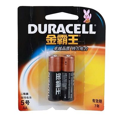 金霸王 5号碱性电池 5号 2节/组  MN1500B2