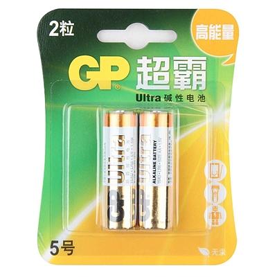 超霸 5号高能量碱性电池 5号 2节/组  GP15A-L2