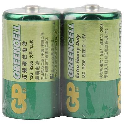 超霸 碳性电池 1号  GP13G BJ2