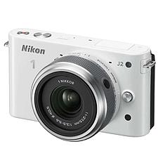 尼康 可換鏡數碼套機 (白) (11-27.5mm f/3.5-5.6)  J2