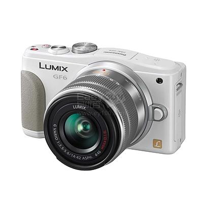 松下 微型可换镜头套机 (白) (14-42mm)  DMC-GF6KGK-W