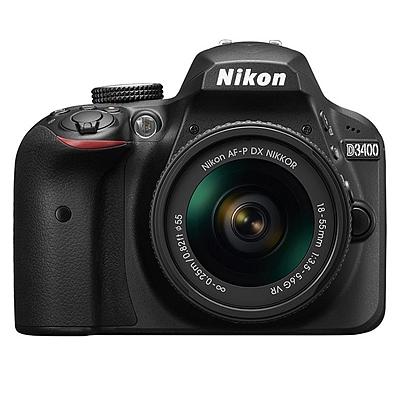 尼康 单反相机套机 (黑) (18-105mm f/3.5-5.6G ED VR 防抖镜头)  D3400