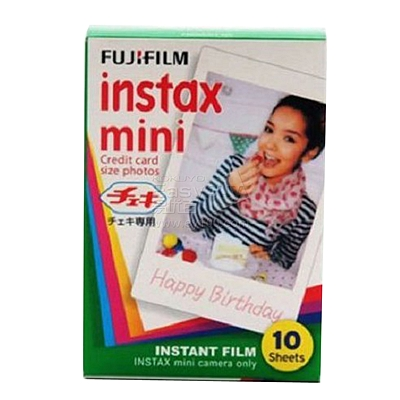 富士 白边相纸 10张/盒  instax mini 相纸