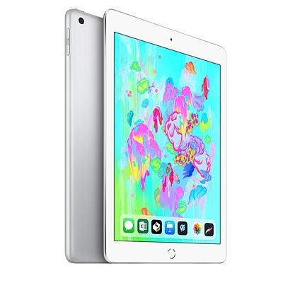 苹果 Apple 2018年新款9.7英寸iPad平板电脑 (银色) 128G WLAN版  MR7K2CH/A