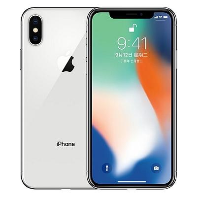 苹果 Apple iPhone X 移动联通电信4G手机 (银) 64GB  A1865
