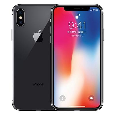 苹果 Apple iPhone X 移动联通电信4G手机 (深空灰) 256GB  A1865