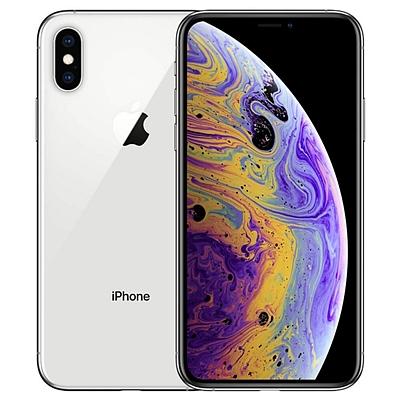 苹果 Apple iPhone XS Max移动联通电信4G手机 (银色) 双卡双待 64G  (A2104)