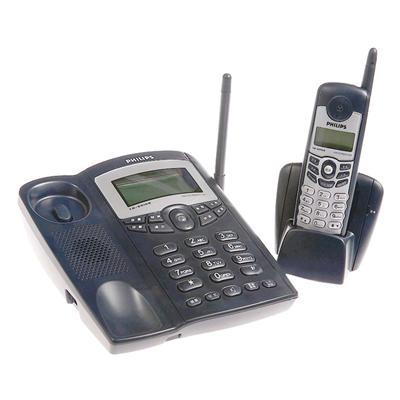 飞利浦 模拟无绳子母电话机 (深蓝)  TD-6816