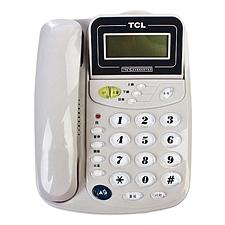 TCL 来电显示电话机 (灰白)  HCD868(17B)TSD