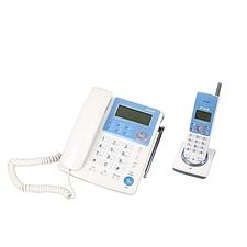 步步高 模拟无绳子母电话机 (白色)  HWCD007(76)TSD