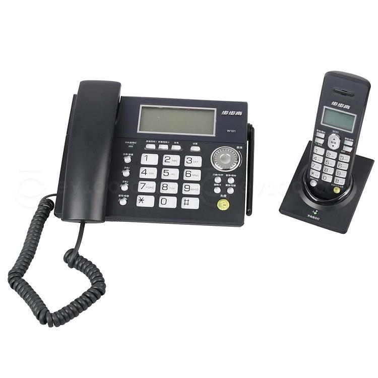 步步高 2.4G数字无绳子母电话机  W101