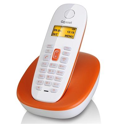 集怡嘉 Gigaset无绳电话机单机 (橙色)  A680