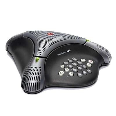 宝利通 音频会议系统电话机 (黑)  VoiceStation 300