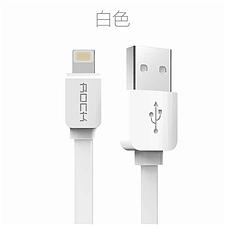 洛克 ROCK苹果Lighting充电数据线 (颜色随机) 1m