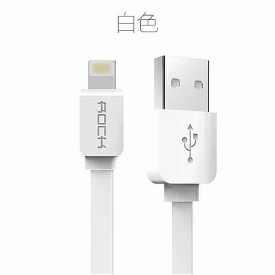 洛克 ROCK苹果Lighting充电数据线 (白) 1m