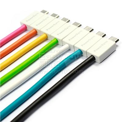 包尔星克 Micro USB 安卓手机充电数据线 (黑) 1.5m  USB2-ERMIB150
