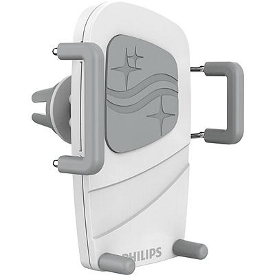 飞利浦 车载空调支架 (白色) ABS+PVC硬软胶组合  DLK35001