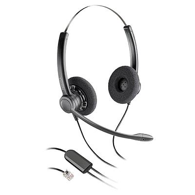 缤特力 电话耳麦(双耳) (黑)  SP12-CISCO