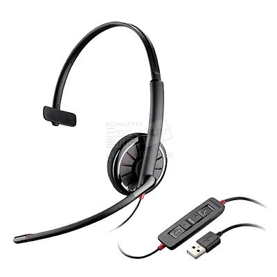 缤特力 Lync单耳耳麦 USB接口 带线控 Lync认证  C310-M