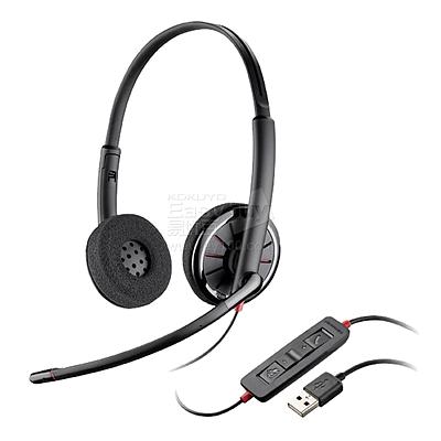 缤特力 Lync双耳耳麦 USB接口 带线控 Lync认证  C320-M