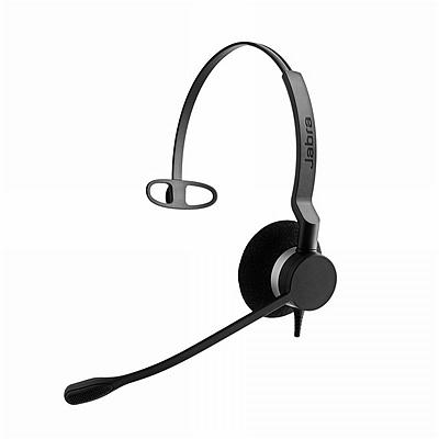 捷波朗 电销客服话务耳机 (黑) 单耳 降噪 适用于电话机  BIZ 2300 MONO-RJ9