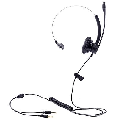 缤特力 电脑客服/坐席耳机 (黑) 3.5mm直连电脑  SP11-PC