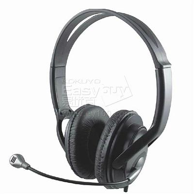 惠普 头戴式耳麦 (黑) C3P48PA#AB2  PC100 Plus