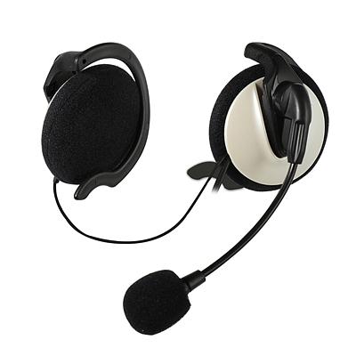 麦克赛尔 挂耳式麦克风耳机  MX-G219-06