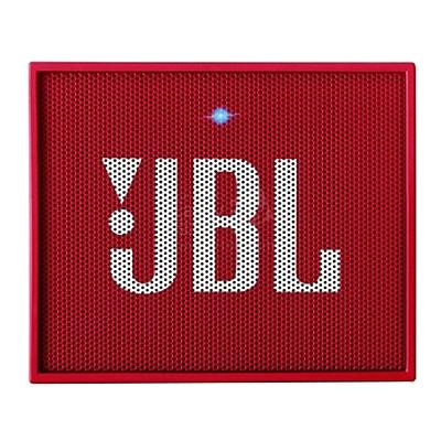 JBL 无线蓝牙通话音响 便携式户外迷你音响 (魂动红)  GO