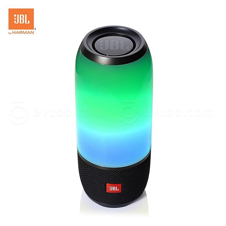 JBL 炫彩藍牙小音箱/便攜音響/低音炮 (黑)  Pulse3 音樂脈動3