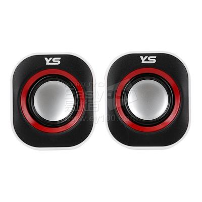 元声 USB供电音箱 (红)  YS-002