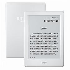 亚马逊 Kindle 电子书阅读器(入门版)WiFi (白色) 全新升级版6英寸