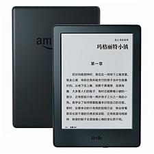 亚马逊 Kindle 电子书阅读器(入门版)WiFi (黑色) 全新升级版6英寸