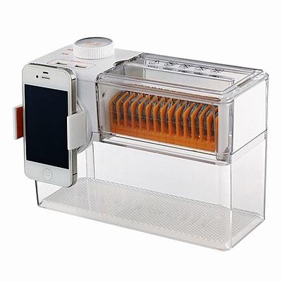 盆景 透明碎系列桌面型碎纸机 (透明) 碎纸效果:4*15mm  T200 2L