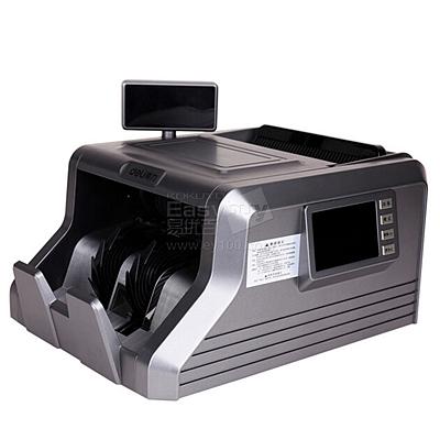 得力 智能双屏点验钞机 C类  3906A